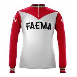 Eddy Merckx 1969 Faema s dlouhým rukávem Jersey